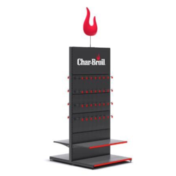 Charbroil Stand Alone Accessory Rack - Display Unit