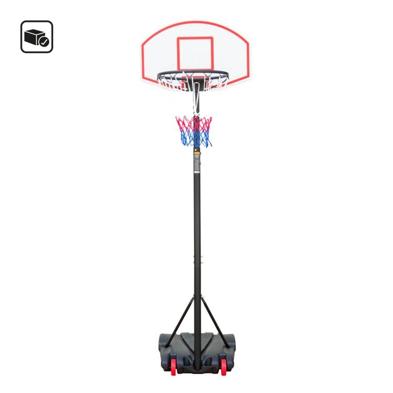 Global Gizmos Adjustable Basketball Post - 2.1m