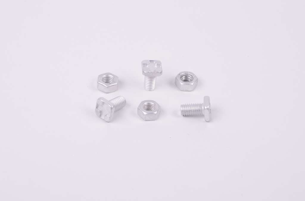 ALM Square Head Bolts & Nuts - Pack of 20