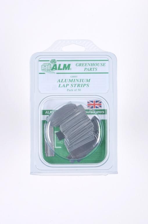 ALM Aluminium Lap Strips - Pack of 50