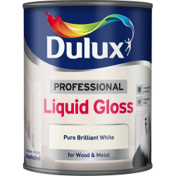 Dulux Professional Liquid Gloss 750ml Pure Brilliant White