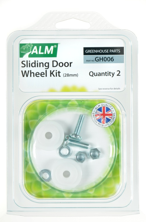 ALM Sliding Door Wheel Kit - Pack of 2