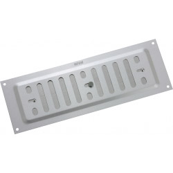 Map Silver Adjustable 'Hit and Miss' Aluminium Vent 229x76mm