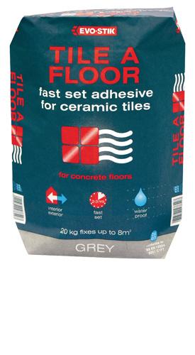 Evo-Stik Fast set Tile Adhesive - 10 kg