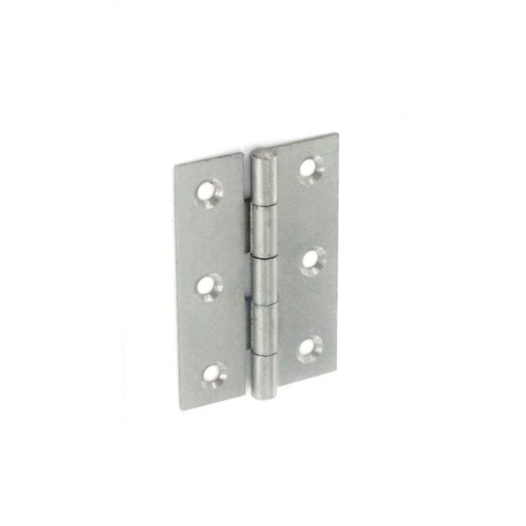 Securit Steel Butt Hinges Self Colour - 65mm Pair