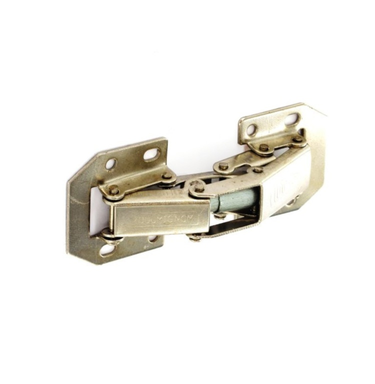 Securit Easy-On Hinges Sprung Zinc Plated (Pair) - 105mm