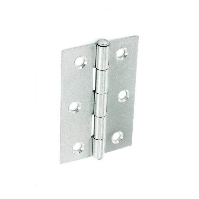 Securit Loose Pin Butt Hinges Zinc Plated (Pair) - 75mm