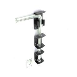 Securit Garage Door Bolt Black 375mm S5194