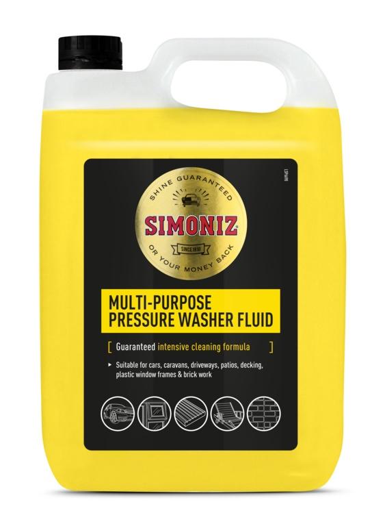 Simoniz Power Washer Detergent - 5L
