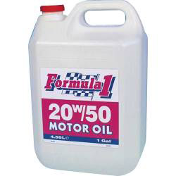 Formula1 20W-50 Motor Oil - 1 Gallon