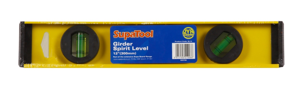 "SupaTool 12""/30cm Spirit Level - 12"" (300mm)"