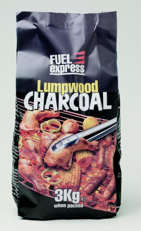 Fuel Express Lumpwood Charcoal - 3kg