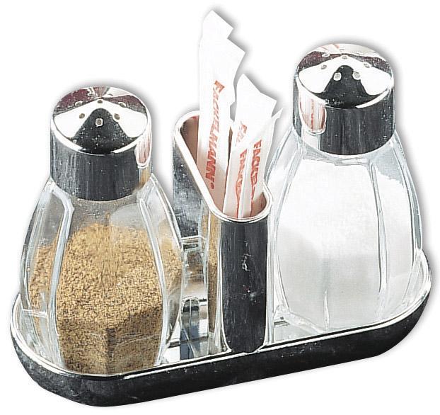 Fackelmann Salt & Pepper Set With Toothpick Holder - 45ml