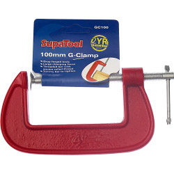 SupaTool G-Clamp 100mm
