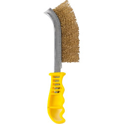 SupaTool Wire Brush Brass Coated