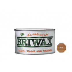 Briwax Natural Wax 400g Teak