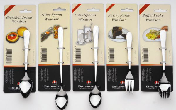 Windsor Buffet Forks 4 Pieces - Stainless Steel