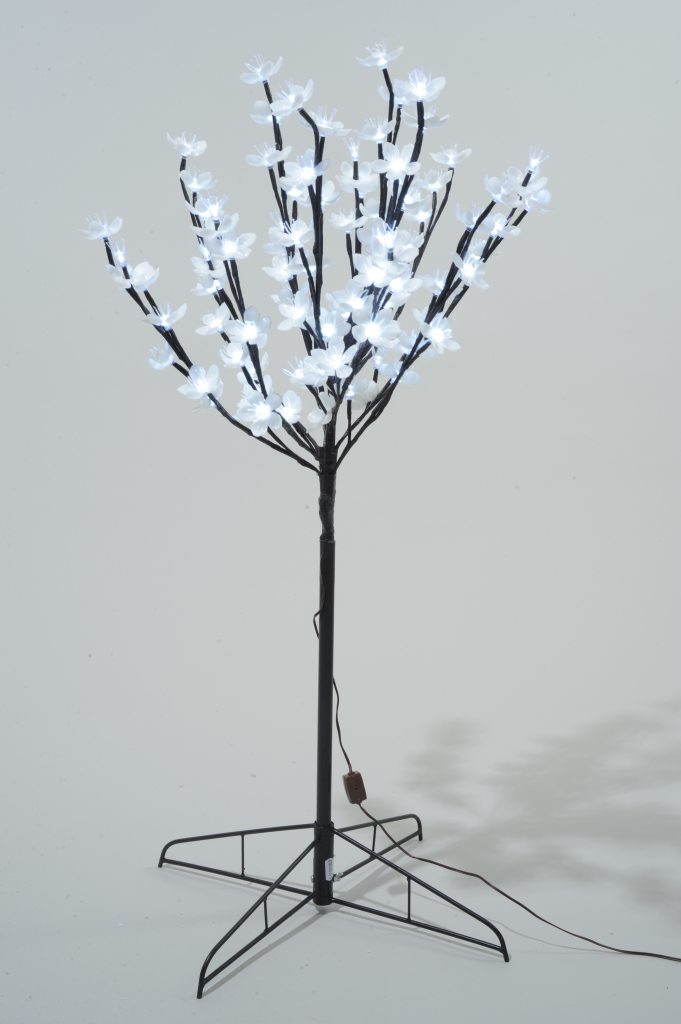 Kaemingk LED Outdoor Blossom Tree - 120cm Cool White