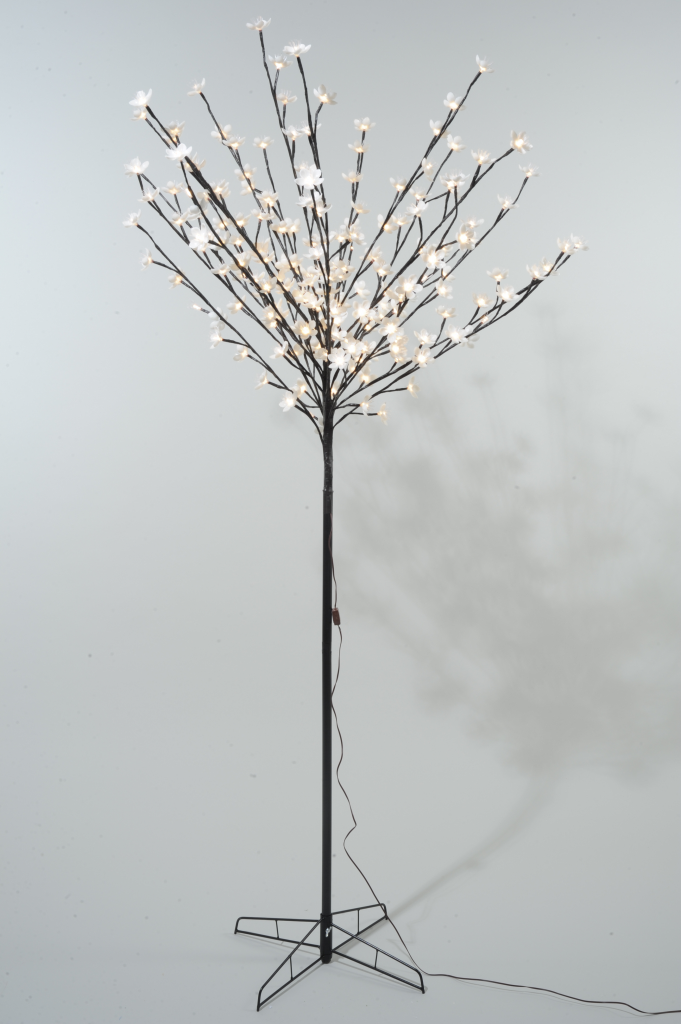 Kaemingk LED Outdoor Blossom Tree - 90cm Warm White