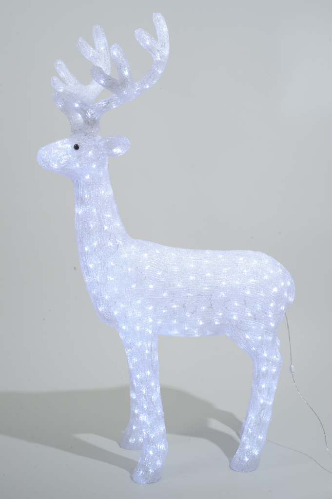 Kaemingk LED Acrylic Reindeer Outdoor - 130cm