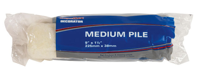 "SupaDec Roller Refill - 9"" x 1.5"" / 225mm x 38mm"