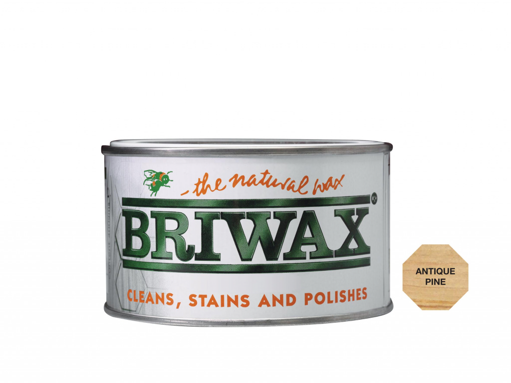 Briwax Natural Wax - 400g Antique Pine