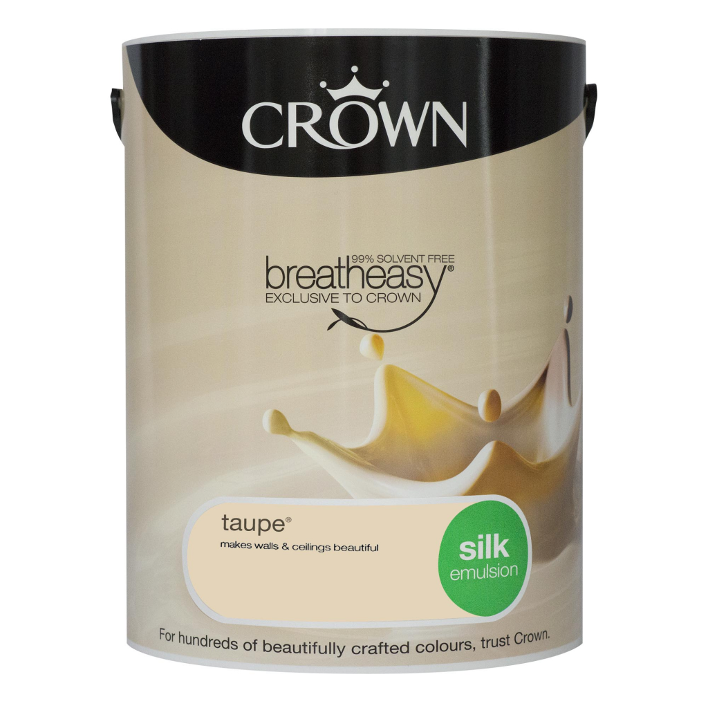 Crown Silk Emulsion 5L - Taupe
