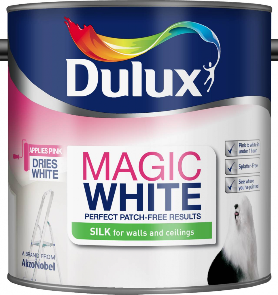 Dulux Magic White Silk 2.5L