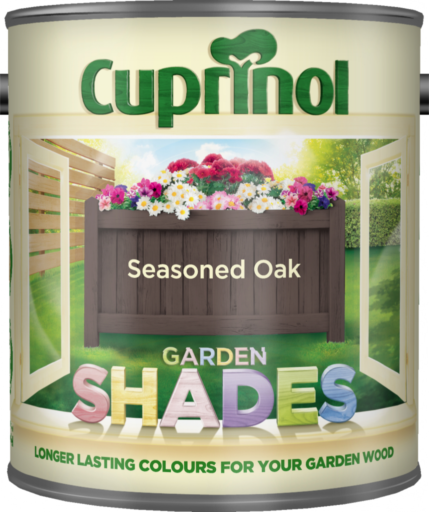Cuprinol Garden Shades 1L - Seasoned Oak