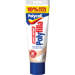 Polycell Quick Drying Polyfilla 330g Plus 10 Free