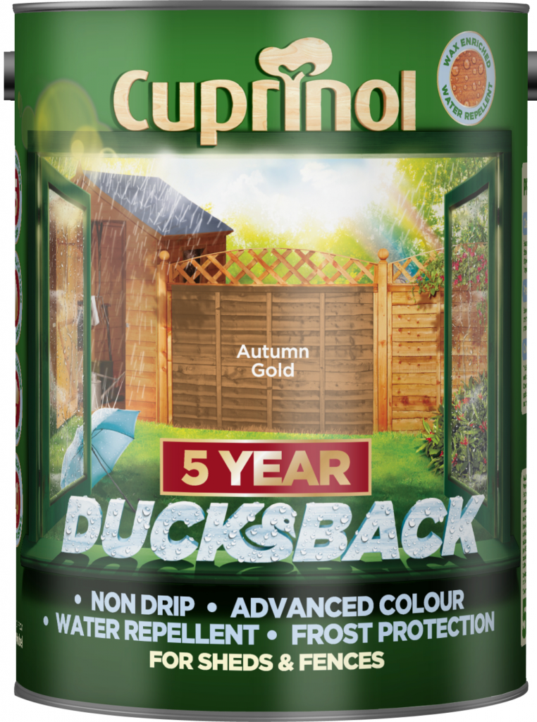 Cuprinol Ducksback 5L - Autumn Gold