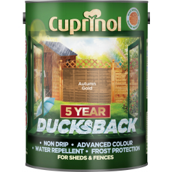 Cuprinol Ducksback 5L Autumn Gold