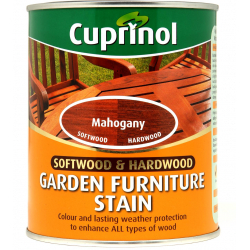 Cuprinol Garden Furniture Stain 750ml Mahogany