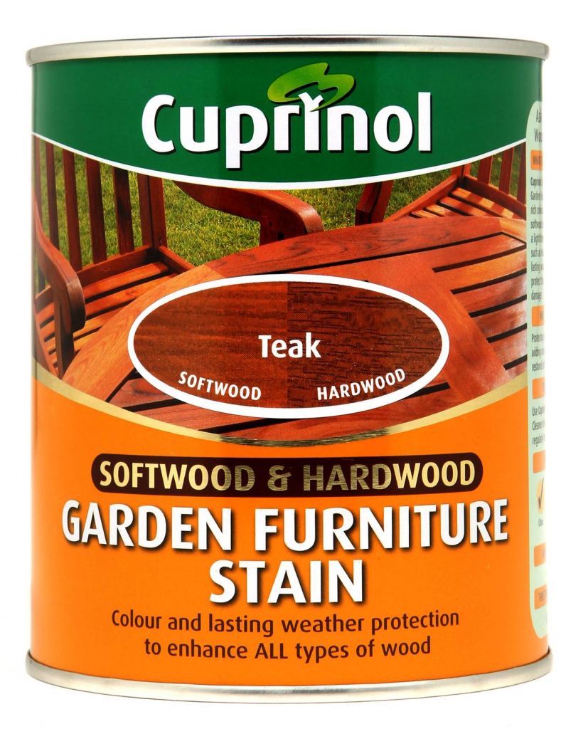 Cuprinol Garden Furniture Stain 750ml - Teak