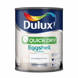 Dulux Quick Dry Eggshell 750ml