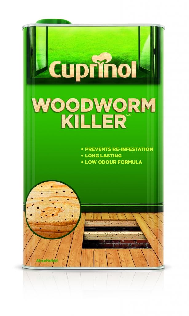 Cuprinol Woodworm Killer Low Odour - 5L