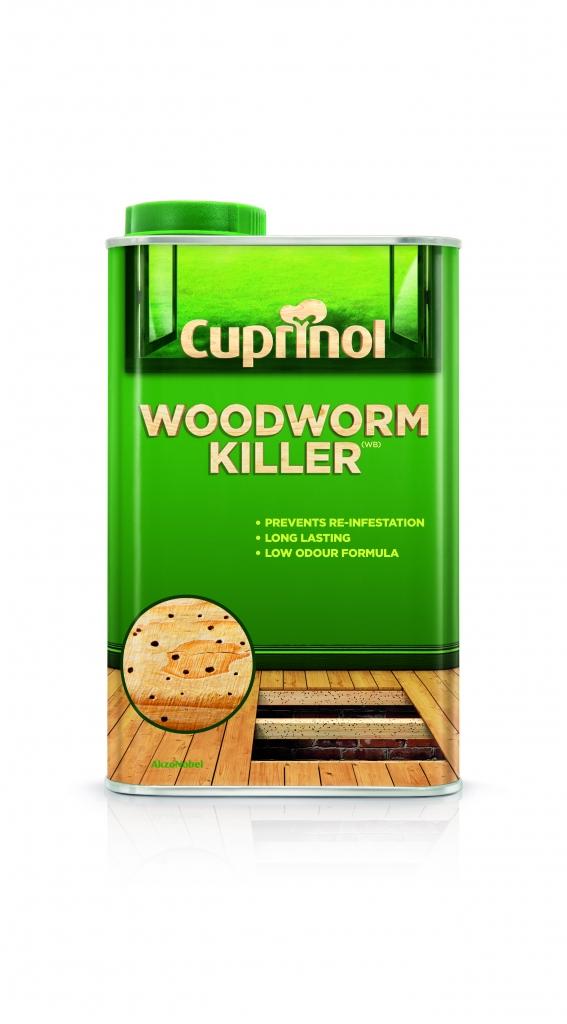 Cuprinol Woodworm Killer Low Odour - 1L