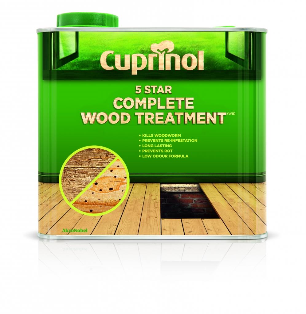 Cuprinol 5 Star Complete Wood Treatment - 2.5L
