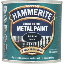 Hammerite Metal Paint Satin 250ml