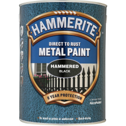 Hammerite Metal Paint Hammered 5L
