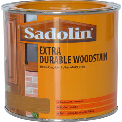 Sadolin Extra Durable Woodstain Light Oak 500ml