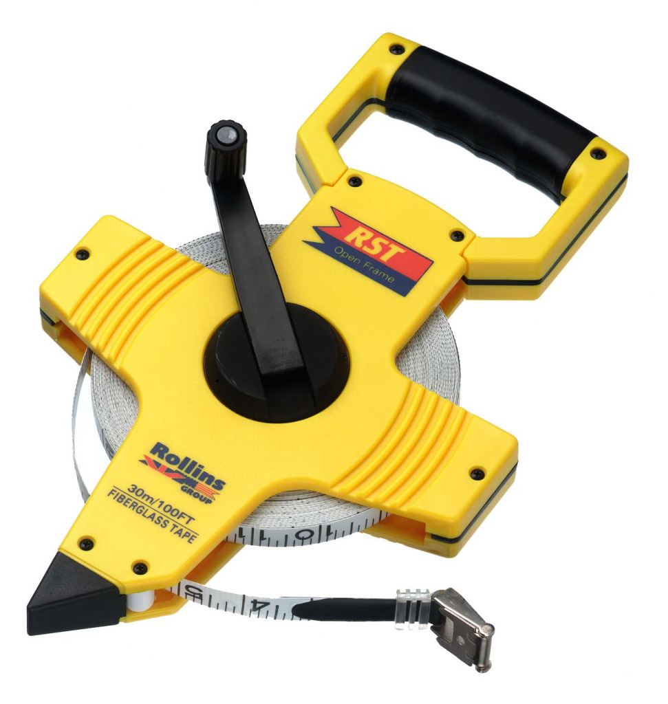 RST Open-Frame Tape Measure - 50m (165')