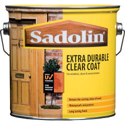 Sadolin Extra Durable Clear Coat Clear Satin 1L