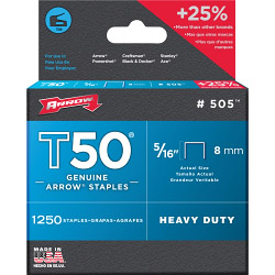 Arrow T50 Staples - 8mm