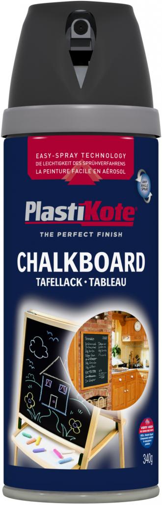 PlastiKote Chalkboard Spray Paint - Black 400ml