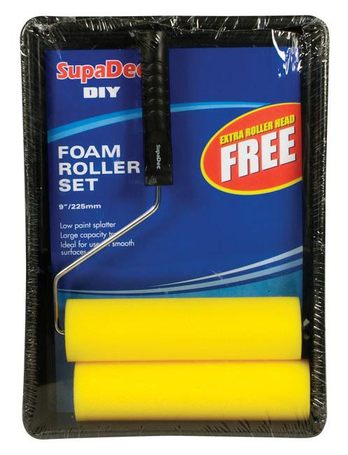 """SupaDec Foam Roller & Tray Set - 9"""" / 255mm"""