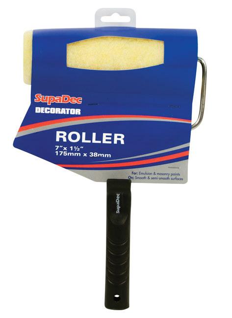 """SupaDec Emulsion Roller - 7"""" x 1.5"""" /175mm x 38mm"""