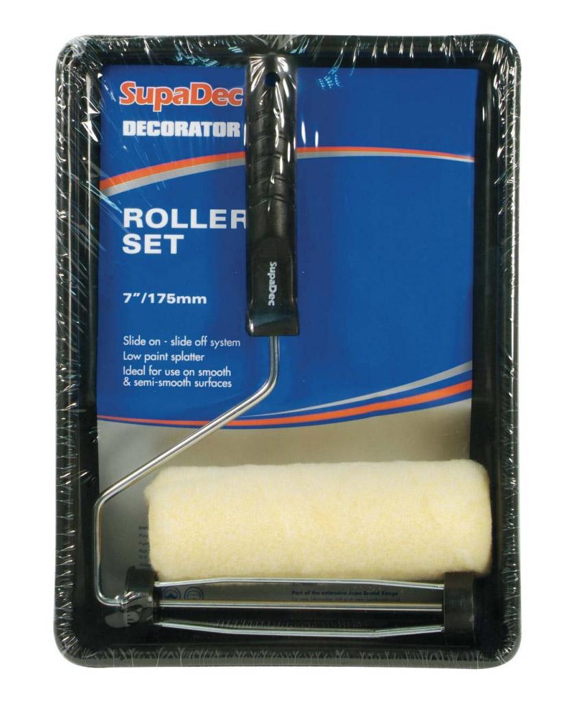 """SupaDec Cage Frame Roller & Tray Set - 7""""/175mm"""
