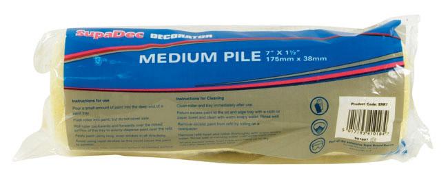 """SupaDec Roller Refill - 7""""/175mm"""
