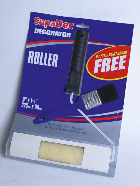 """SupaDec Roller - 9"""" x 1.5"""" / 225mm x 38mm"""